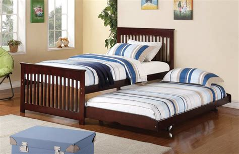 twin pop up trundle bed coaster salinas twin bed with pop up trundle cappuccino