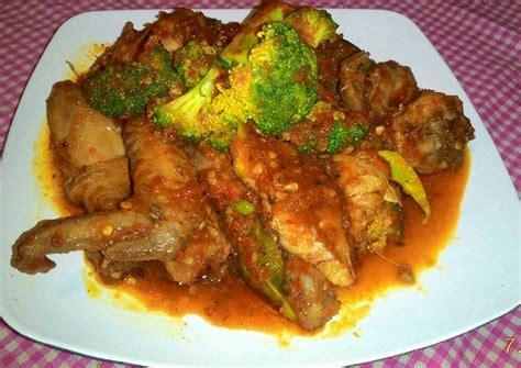 resep ayam brokoli rica rica ala manado oleh eva susanti
