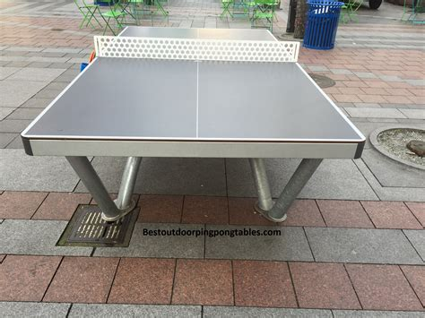 seattle outdoor ping pong tables
