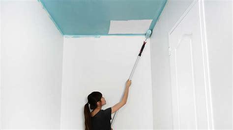 Comment Peindre Le Plafond comment peindre un plafond de couloir en couleur