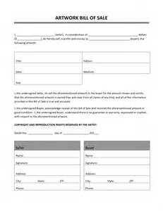 Bill Of Sale Trade Template by Artwork Bill Of Sale Template Free Microsoft Word Templates