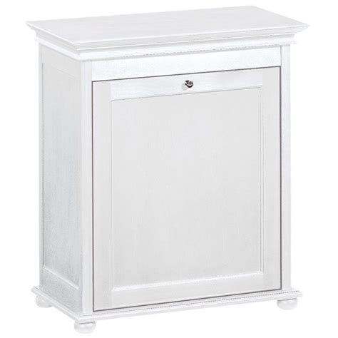 Home Decorators Collection Hton Harbor 24 In Single White Wood Laundry