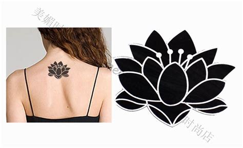 black and white lotus flower tattoo 32 awesome black lotus tattoos