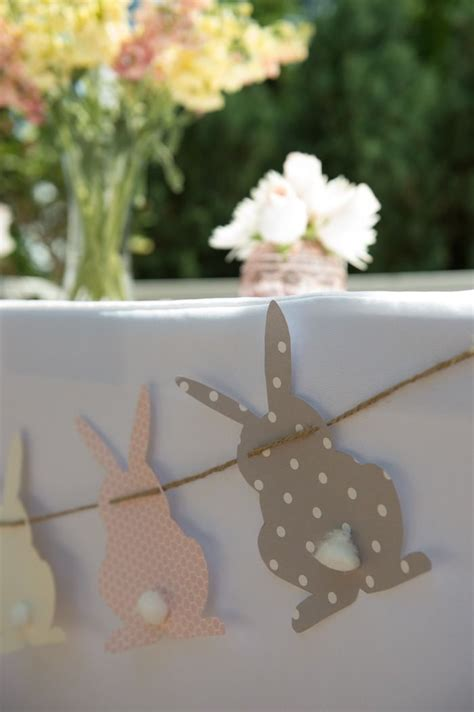 Bunny Baby Shower Decorations by Vintage Bunny Themed Baby Shower Baby Shower Inspired