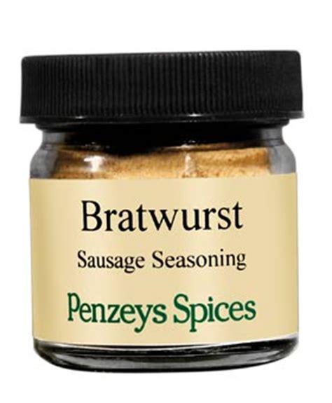 bratwurst seasoning spices at penzeys