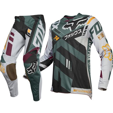 full motocross gear fox racing new 2016 mx le 360 san diego divizion grey