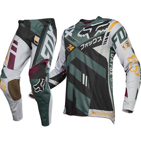 motocross gear san fox racing new 2016 mx le 360 san diego divizion grey