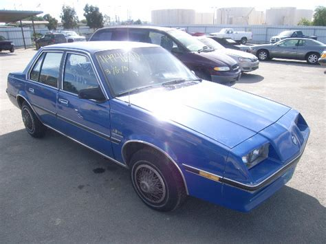1985 buick skyhawk for sale used salvage buick skyhawk 1 8l 4 1985 for sale martinez
