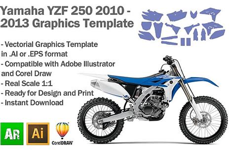 motorcycle graphics templates 250 yzf 2013 autos post
