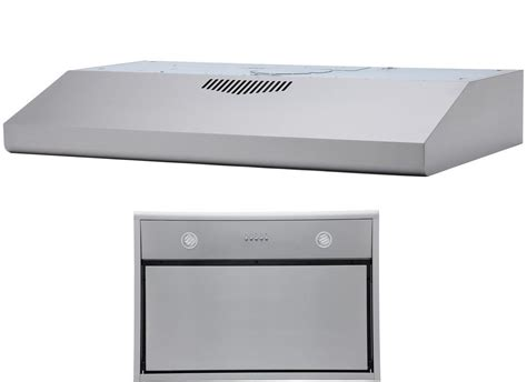 chx3030pdsc 290 cfm 30 inch wide stainless steel