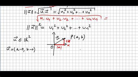 linear algebra  norm   vector youtube