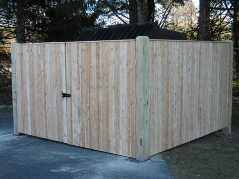 dumpster enclosure dumpster enclosures