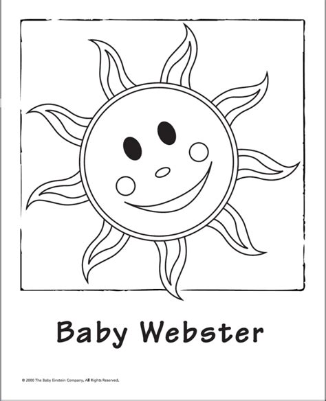 Baby Einstein Coloring Pages baby einstein coloring pages printable az coloring pages