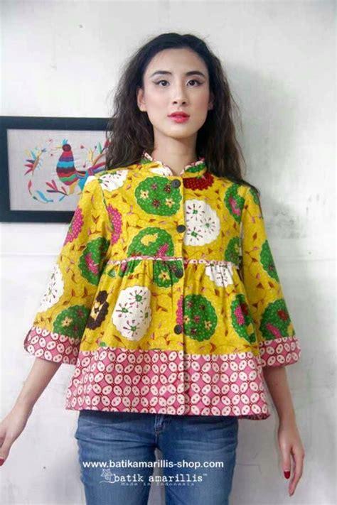 Blouse Salur Garis Motif Kumbang 244 best batik images on batik fashion batik dress and blouse batik