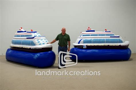 inflatable boats houston giant inflatable boat replica for the houston boat show
