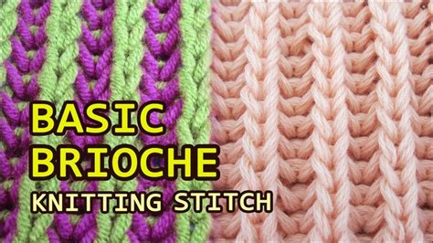 brioche knitting with two colors 17 best images about brioche on how to work