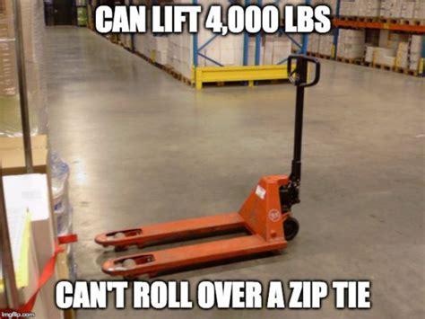 Warehouse Meme - forklift fails