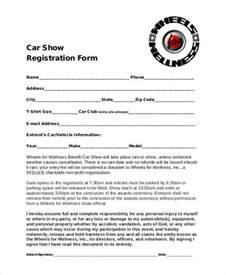Car Rental Registration Form Registration Forms Template Free Registration Form