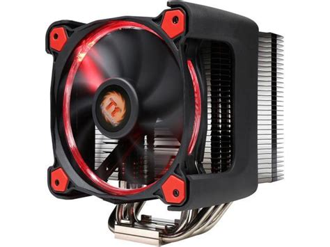 Cooler Thermaltake Riing Silent 12 Cpu Cooler thermaltake cl p021 ca12re a 120mm hydraulic riing silent