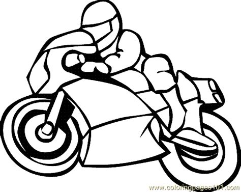 simple motorcycle coloring pages motorcycle coloring pages