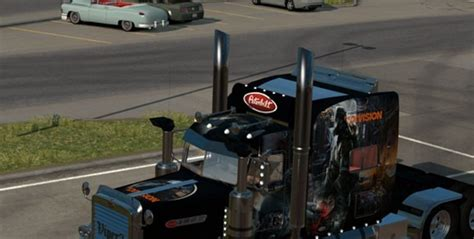 Topi Trucker Tom Clancy S The Division 02 Warna peterbilt 389 tom clancy the division ats skin ats mod