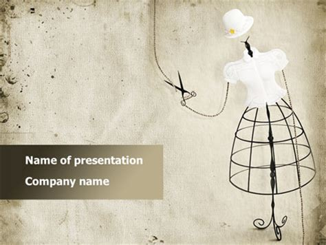 ppt templates for garments elegant clothes presentation template for powerpoint and