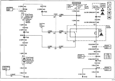 1997 chevy blazer fuel could you get the wire diagrams relay