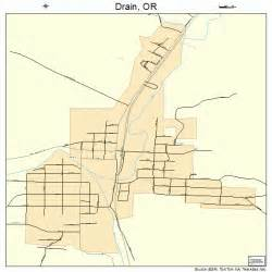 drain oregon map drain oregon map 4120500