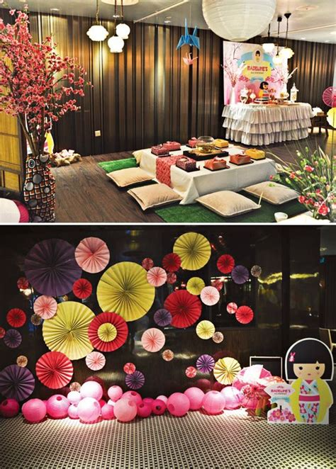 themed party house japanese theme parties on pinterest japanese party