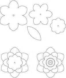 best 25 flower template ideas on pinterest paper flower