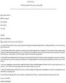 Librarian Cover Letter by Librarian Cover Letter Exle Icover Org Uk