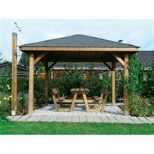 kiosque de jardin en bois mexico abris soli deco
