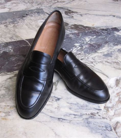 edward green piccadilly loafer uk 8 5 edward green quot piccadilly quot black calf