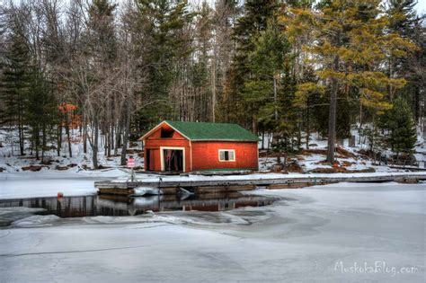 boat house ca little red boathouse muskoka blog