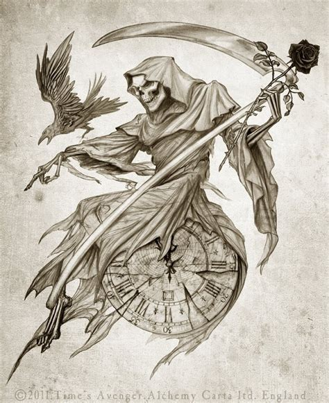reaper tattoo 25 best ideas about grim reaper on