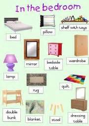 in the bedroom english worksheet in the bedroom poster