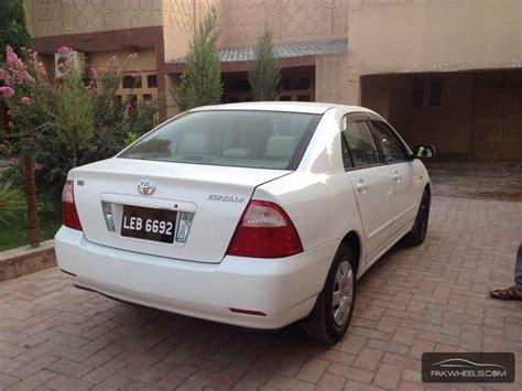Toyota X Corolla 2005 Used Toyota Corolla X 2005 Car For Sale In Peshawar