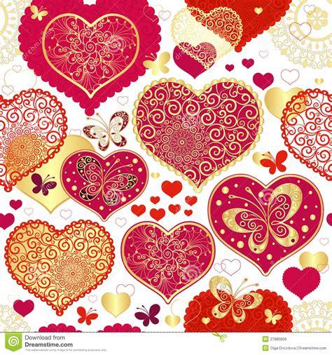 valentines pattern seamless pattern stock vector illustration of