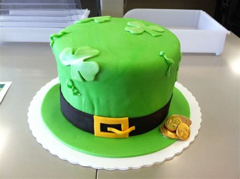 irish cake bashert cakes irish hat cake