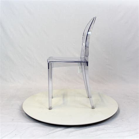 Ghost Chair Armless by Kartell Louis Style Armless Ghost Chair Before After
