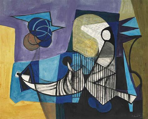 roberto burle marx brazilian 1909 1994 untitled mermaid with blue balls christie s