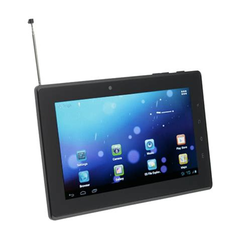 Tv Tuner Untuk Tablet Android pt7100 series tablet pc from geniatech built in digital tv tuner with 7 inch screen