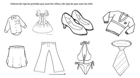 imagenes de ropa en ingles para colorear calam 233 o laminas para colorear prendas de vestir