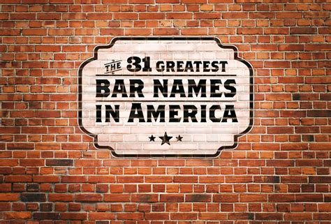 theme bar names the 31 greatest bar names in america featuring jon