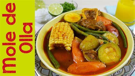 la cocina rpida de mole de olla caldo de res comida mexicana mi cocina r 225 pida ft super amas de casa youtube