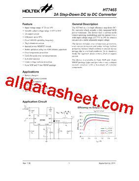 transistor ht china ht7465 datasheet pdf holtek semiconductor inc
