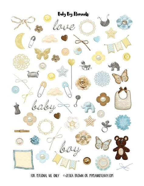 Babyaufkleber Kalender by Free Pdf Studio Printable Print And Cut Files Baby