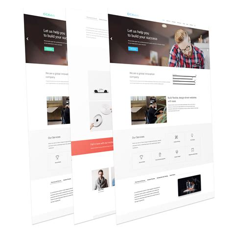 template joomla one page free ocean free responsive one page joomla template