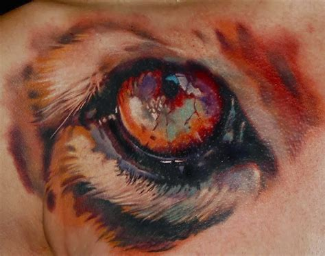 tattoo eyes red realistic eye tattoo by laura juan design of
