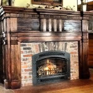fireplaces vintage brick veneer